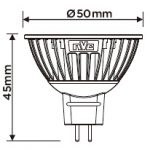 LAMPU LED MR16 NVC
