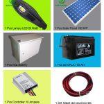 Paket PJU Solar Panel 20 Watt