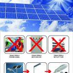 PJU Solar Integrated All In One 8 Watt
