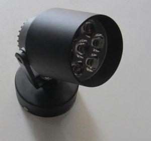 LAMPU LED D112 BK 7W