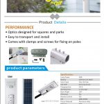 PJU All in One Solar Cell TG50