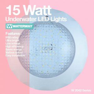 Lampu kolam ikan LED W2042 15 Watt