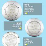 Lampu Kolam Renang LED W2043 12 Watt