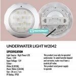 Lampu Kolam Renang LED W2042 12 Watt